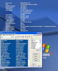 Windows Systeminfos Hintergrund