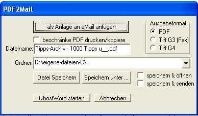 pdf2mail