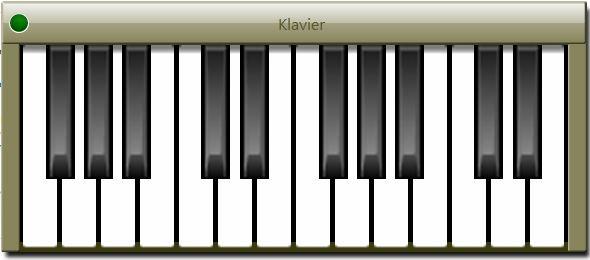 Klavier Am Pc