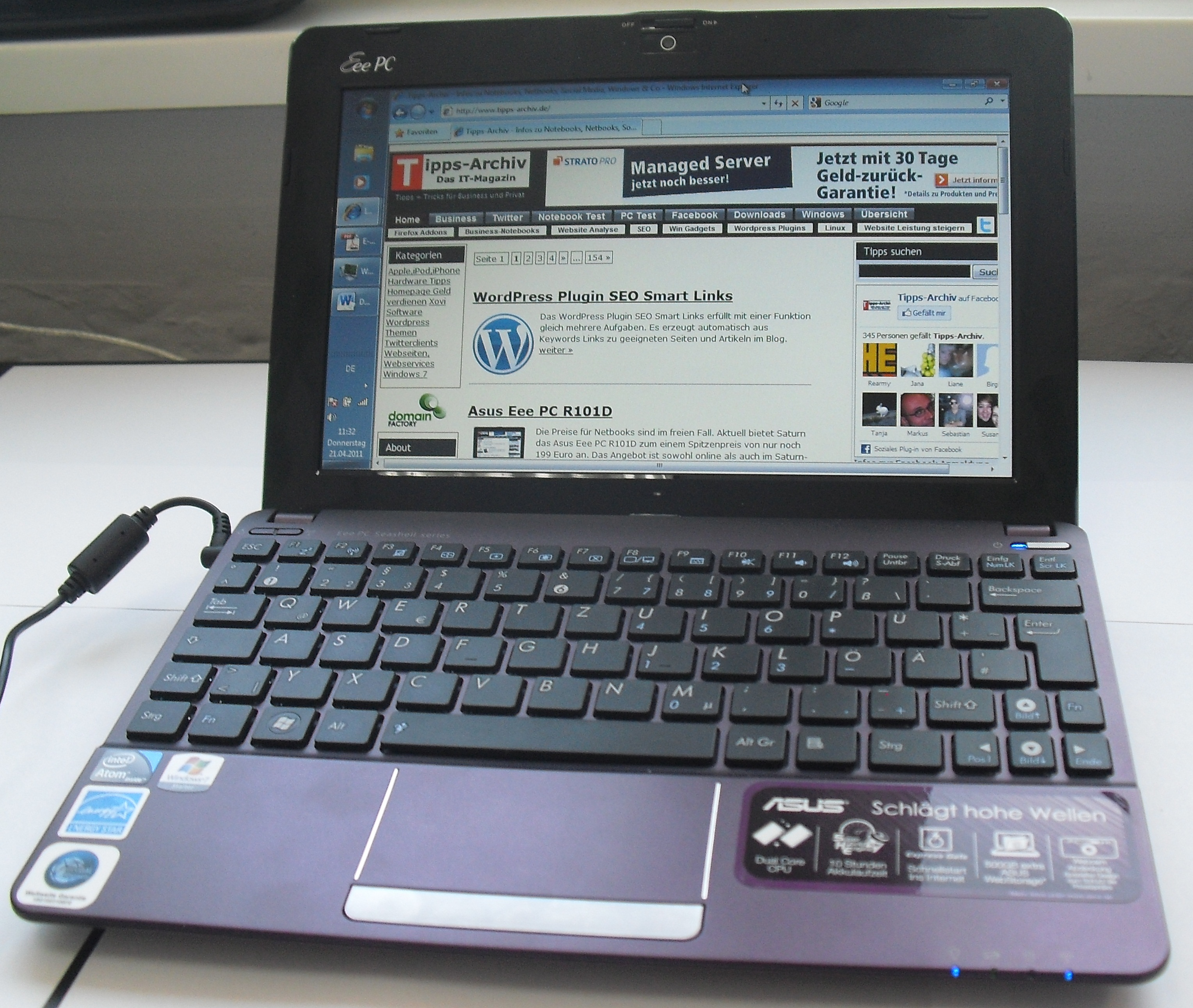 ASUS Eee PC 1201T Free Driver Download (Official) for ...
