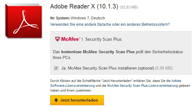 Adobe-Reader-installieren