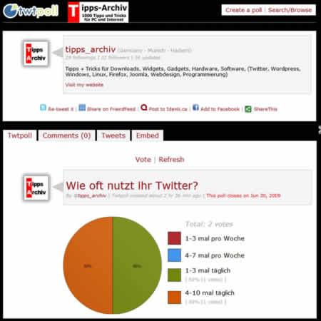 Twitter – Umfragen online stellen in 10 Sekunden