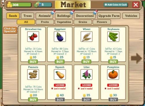 farmville-markt