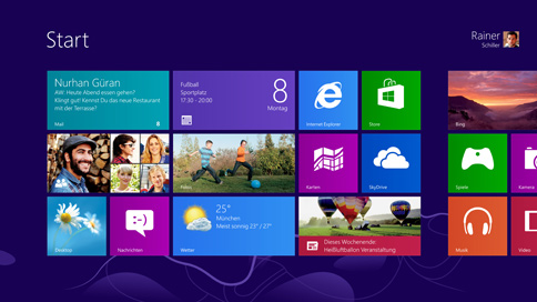 Microsoft zeigt Windows 8 Preview