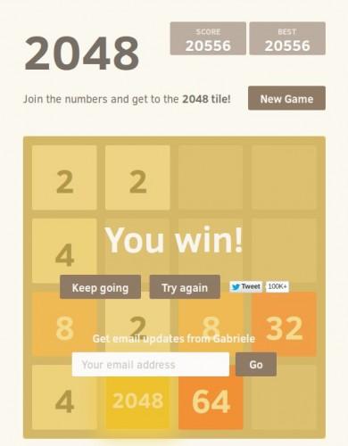 2048 - das Spiel