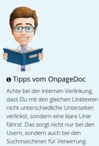OnpageDoc Tipps