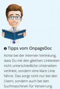 OnpageDoc Tipps