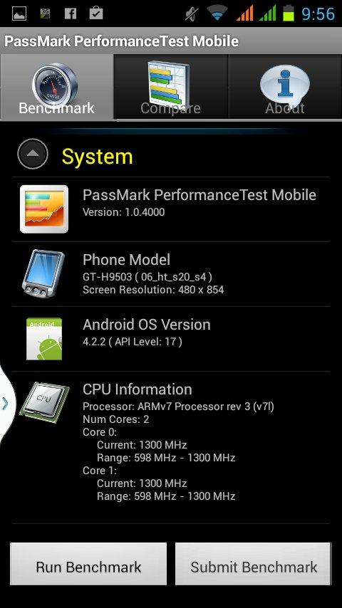 Smartphone Geschwindigkeit testen