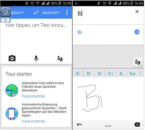 Google Übersetzer- perfekt für alle Alltagssituationen