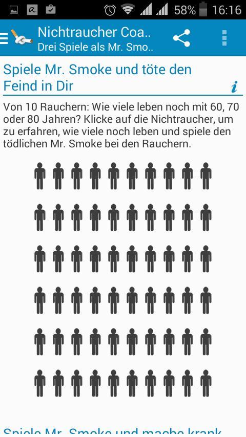Nichtraucher-Coach App
