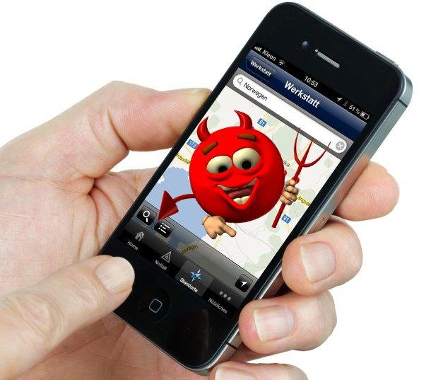 Sicherheit bei Smartphones